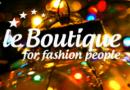 За модными покупками в Ле Бутик