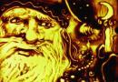 Песочные Ёлки в Политехническом музее «Новый год на грани фантастики»