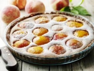 Персиковый штрудель с нектаринами