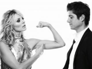 Женщина и мужчина. Финансовая конкуренция.